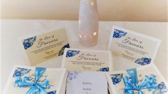 Wedding Favour Northwest Cancer Support CentreWedding Favour Sligo Cancer Support Centre